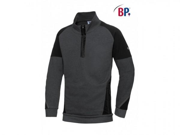 BP® Sweatshirt-Troyer für Herren, 60% Baumwolle, 40% Polyester
